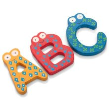 Wooden Magnetic Letters - Tobar -  wooden magnetic letters tobar