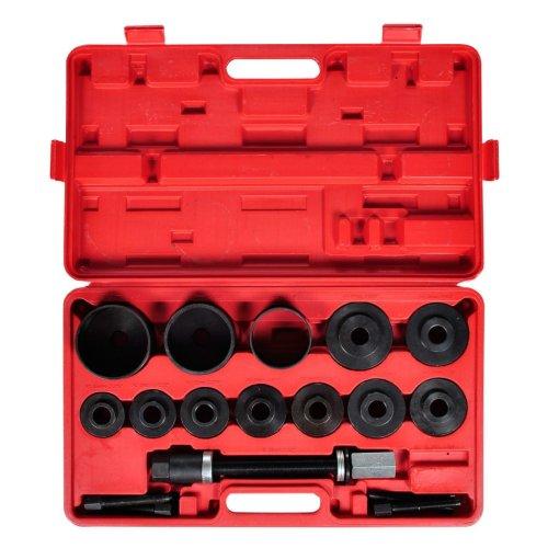 vidaXL 20-Piece Wheel Bearing Tool Kit Removal Installation Press Pull Set