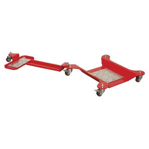 Sealey MS064 Motorcycle Dolly Rear Wheel - Long Side Stand Type