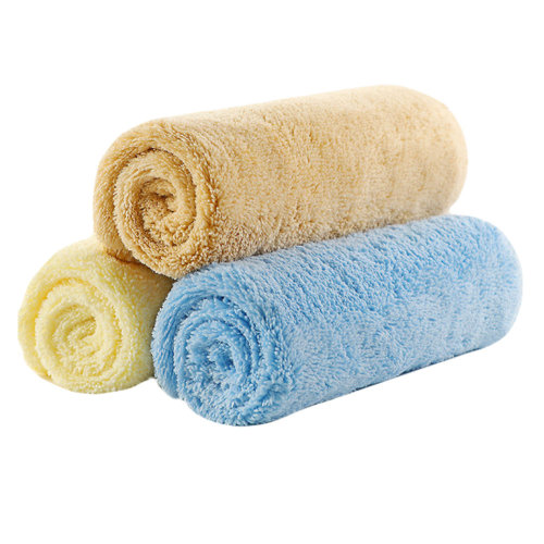 Child's Towels Kids Soft Cotton Towels 3 Packs for Baby Kids #3