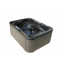 Dark Grey Hot Tub - Whirlpool Spa Bath - Outdoor - LAGOON
