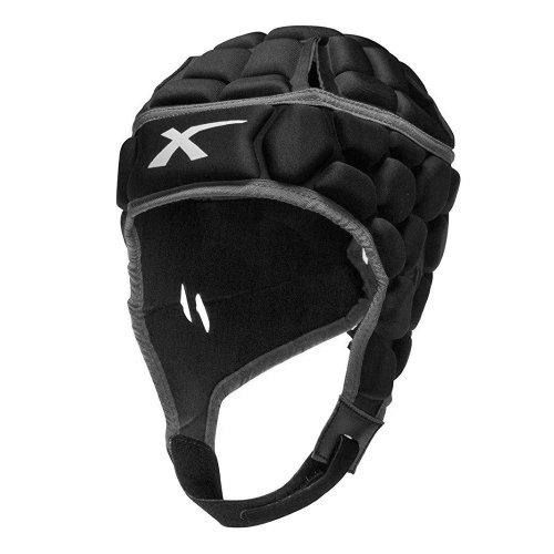 X Blades Elite Rugby Headguard Scrum Cap Head Protection Black