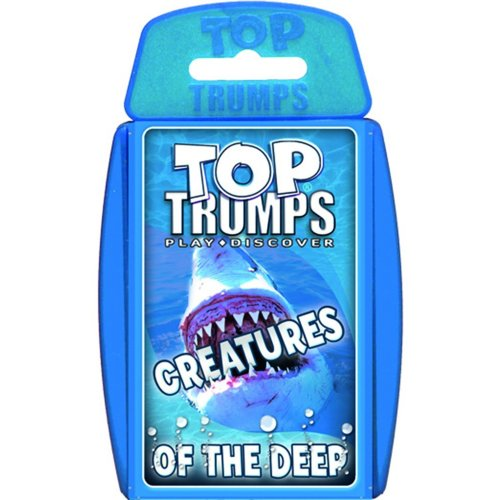 Creatures of the Deep Top Trumps Card Game New Sealed