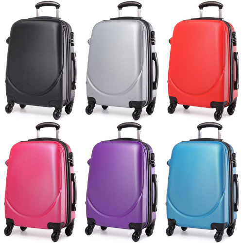 KONO Luggage Suitcase Travel Bag Cabin Trolley Case 4 Wheels Spinner Hard Shell ABS 20 Inch