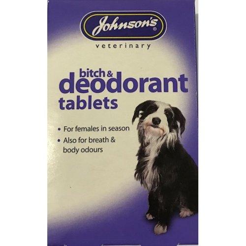 Bitch & depdorant tablets.
