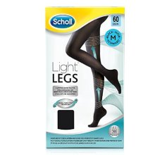 Scholl Light Legs 60 Denier Black Medium