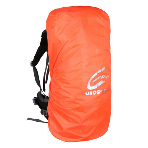 [ORANGE] Camping/Hiking Water-proof Backpack Rain/Snow Cover, Size M,30-50L