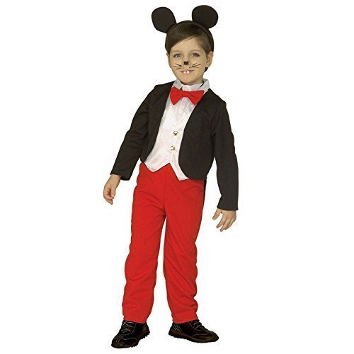 Boys Mouse Boy Child Costume For Disney Fairytale Fancy Dress - mouse boy frac wvest pants bow tie ears age 45 animals  sc 1 st  OnBuy & Boys Mouse Boy Child Costume For Disney Fairytale Fancy Dress ...