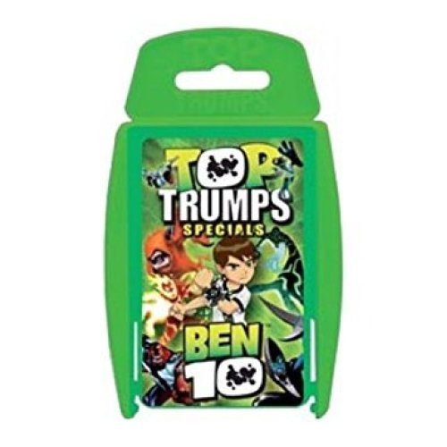Top Trumps Specials Ben 10 Family Card Game Brand New Sealed