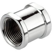 "1/2"" 3/4"" Thread Pipe Connection Female X Female Screwed Fittings Muff"