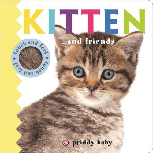 Priddy Baby Kitten & Friends (Priddy Baby Touch & Feel)