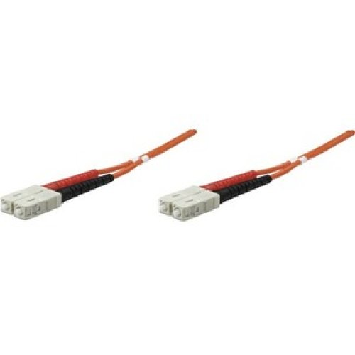 Intellinet 470049 10.06 M Fibre Optic Network Cable for Network Device 128 470049