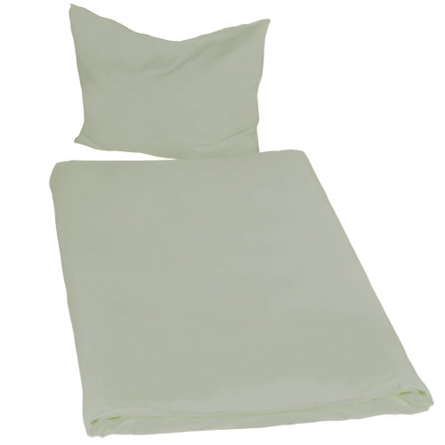 2 bedding sets 200x135cm 2-piece green