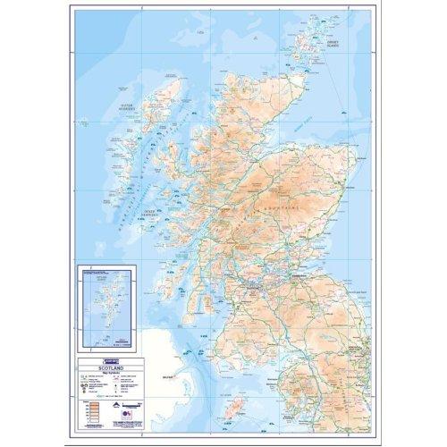 Compact Map - Scotland