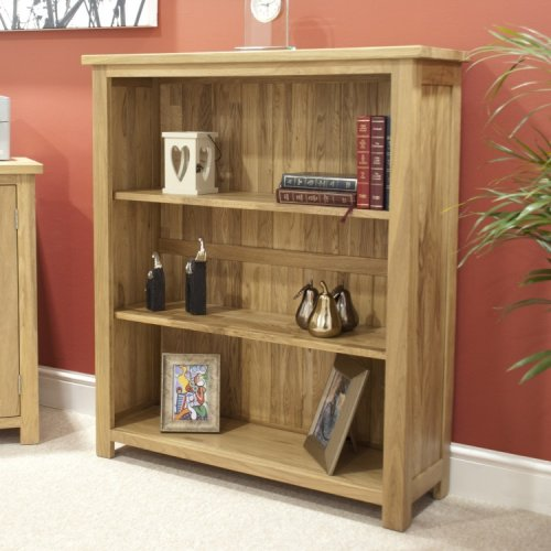 Homestyle Opus Solid Oak Furniture Small Bookcase