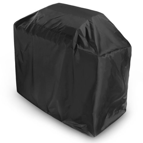 Barbecue Cover, Ankier Waterproof Polyester BBQ Grill Cover Large 170cm (Black)