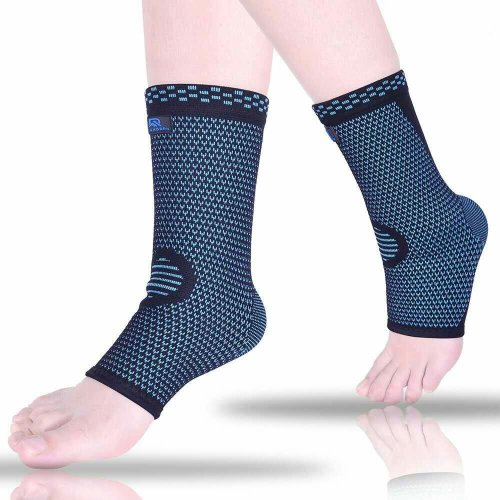 982311173e Ankle Brace Compression Sleeves for Sprain, Arthritis, Achilles Tendonitis,  Heel Spurs, Plantar Fasciitis, Foot Socks with Arch Support Eases... on  OnBuy