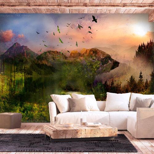 Wallpaper - Bear in the Mountain