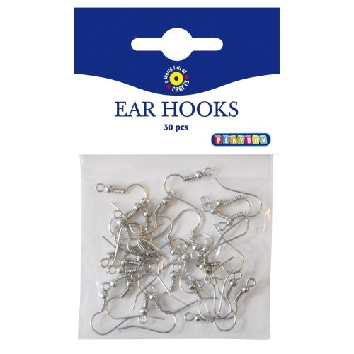 Pbx2471037 - Playbox - Ear Hooks 30pcs 20mm