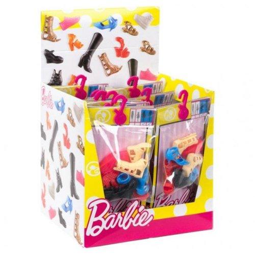 Mattel MTTFCR91 Barbie Shoe Pack Doll Assortment - 18 Piece