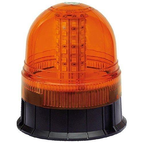 Maypole Mp4090 LED Hazard Warning Beacon 3 Bolt Fixed, 12/24 V - Fixing 1224 -  led beacon 3 bolt mp4090 fixing 1224v maypole r10 ip56 hazard