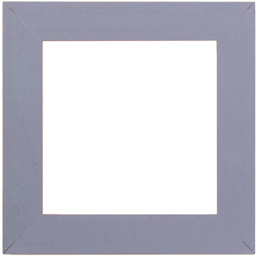 """Wooden Frame 6""""X6""""-Matte Periwinkle"""