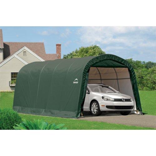 10x20 Shelter Logic Round Top Auto Shelter