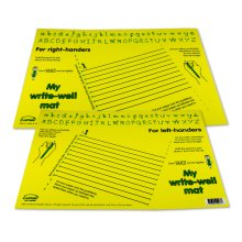Writewell Mat (Yellow)  Right and Left handed