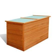 42702 vidaXL Garden Storage Box Wood