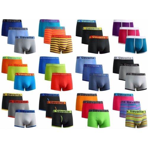 12 Pairs Mens Cotton Rich Trunks Boxer Shorts Hipster Designer Underwear Gifts