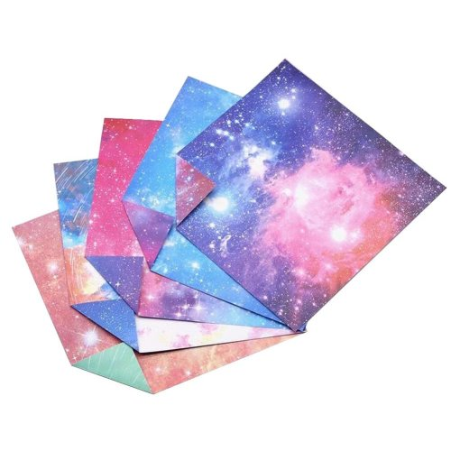 150 Sheets Colorful Square Origami Papers Craft Folding Papers #24