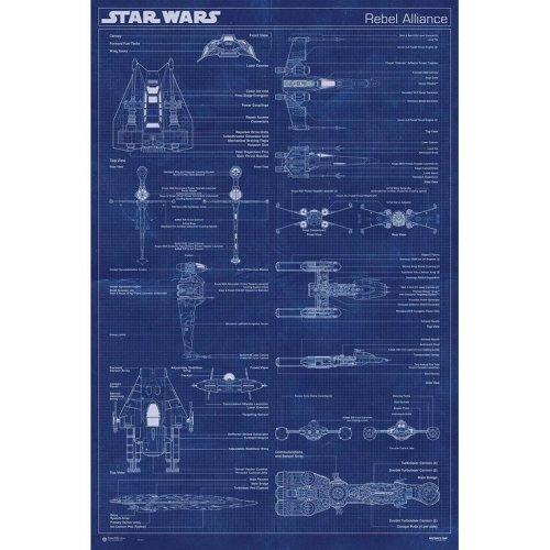 Maxi Poster Star Wars Rebel Alliance Machine