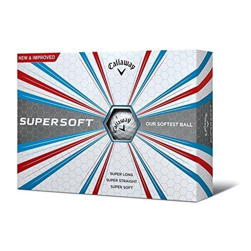 Callaway Supersoft Golf Balls One Dozen White