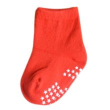 7 Pairs Non-slip Newborn Baby Toddler Socks Warm Stockings Baby Gift 9-12 CM For 0-1 Year Baby-A05