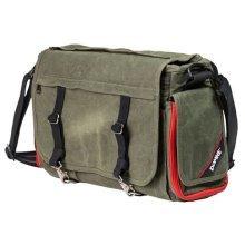 Domke Rugged Wear Metro Messenger Shoulder Bag - Military Green/Black