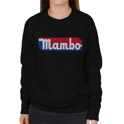 Mambo Retro Sports Style Logo Women's Sweatshirt