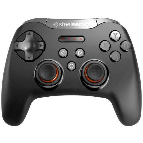 SteelSeries Stratus XL, Wireless Gaming Controller, Bluetooth, 14 Buttons, Black