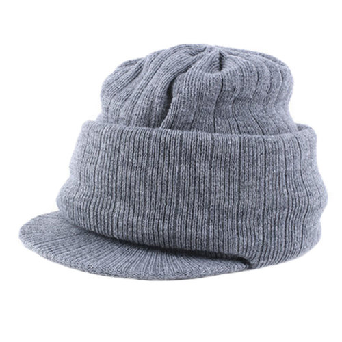 8768b715742b2 Men s Warm Knit Hat Beanie Hat Anti-wind Mask Snow Cap