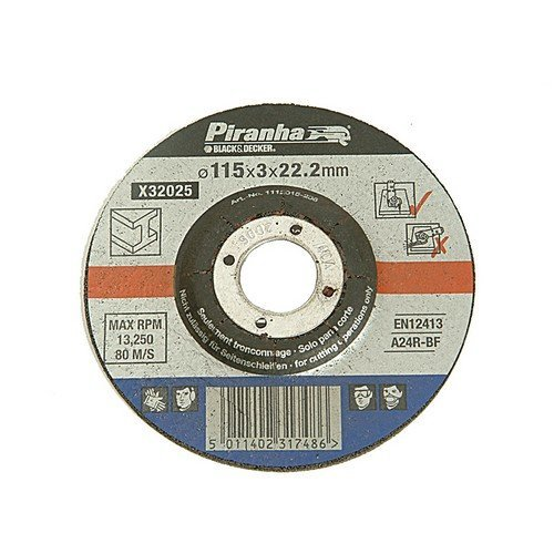 Hilka 51606004 60-Grit Flap Disc 115 mm