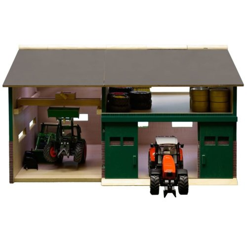 Kids Globe Barn with Loft 1:32 610410