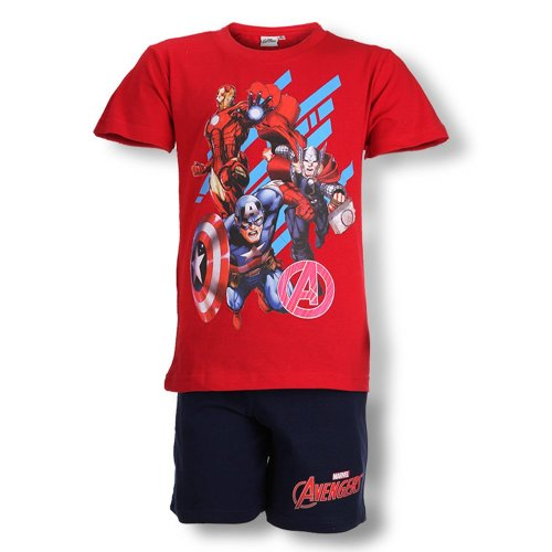 Avengers Short Pyjamas - Red