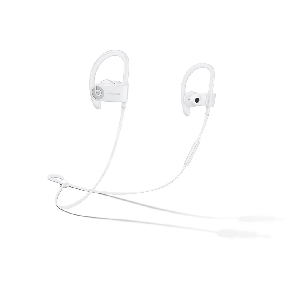 White Beats By Dre Powerbeats3 Wireless Earphones