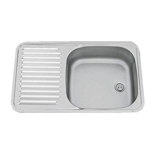 Smev Square Sink With Drainer (Tap Not Included)