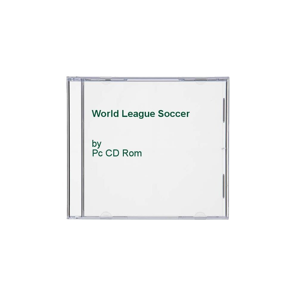Pc CD Rom  World League Soccer