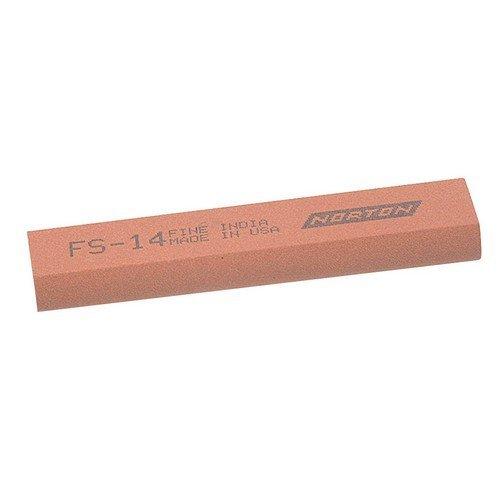 India 61463687140 MS14 Round Edge Slipstone 100mm x 25mm x 11mm x 5mm - Medium