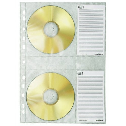 Durable 5222-19 4discs Transparent