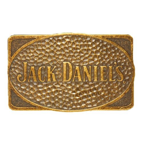 Jack Daniels Belt Buckle with Brass Finish