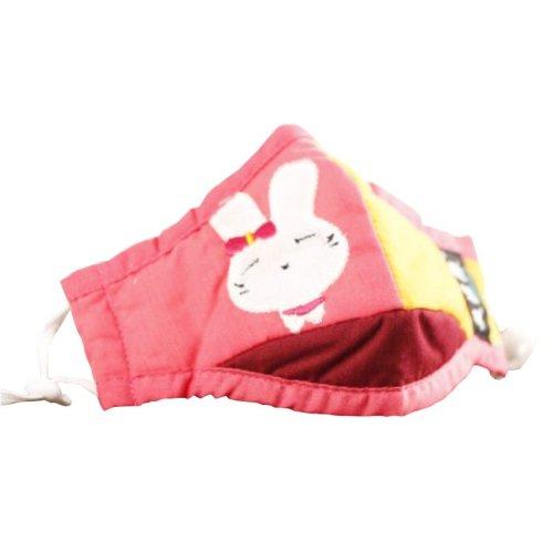 Cotton PM2.5 Anti-smog + N95 Activated Carbon Mask Children Masks Rabbit 01