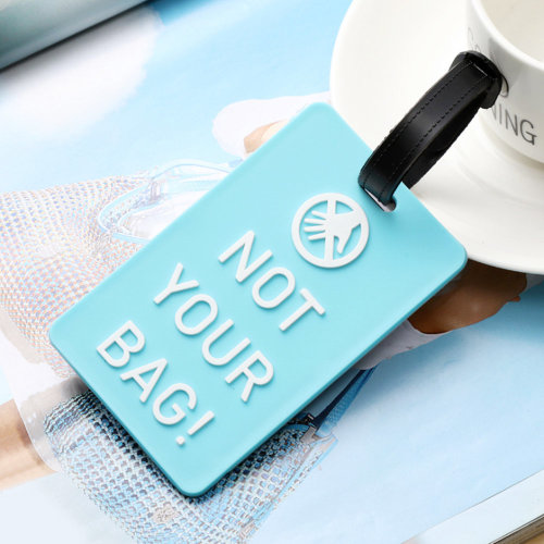TRIXES Not Your Bag Luggage Tag