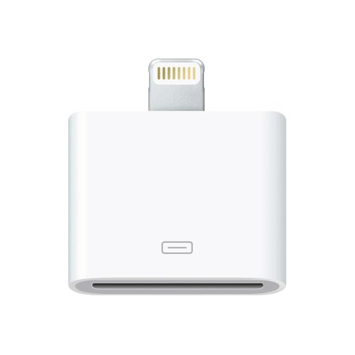Apple MD823ZM/A Lightning 30-Pin White cable interface/gender adapter